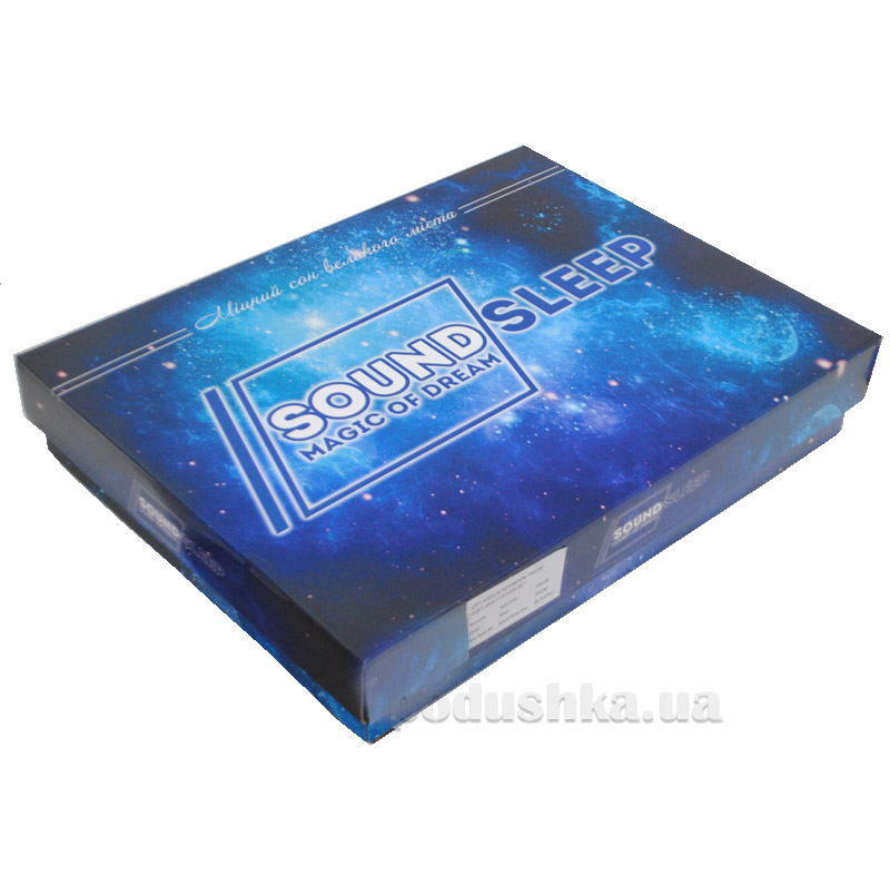 Комплект постельного белья SoundSleep Damask White сатин-жаккард Двуспальный евро комплект  SoundSleep