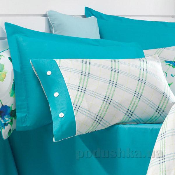 Постельное белье Issimo Sandera turquoise Двуспальный евро комплект  Issimo Home