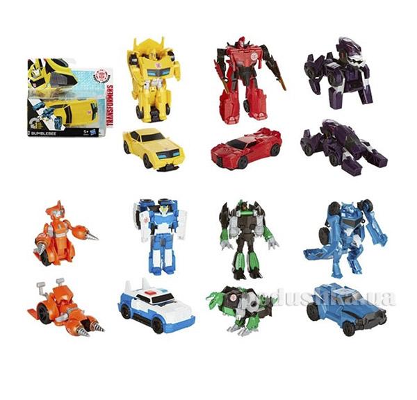 Трансформер Роботс-ин-Дисгайс Уан-Стэп Hasbro B0068  цвет - красный с оранжевым Hasbro