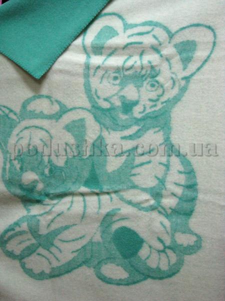Одеяло детское Два тигренка Klippan Saule