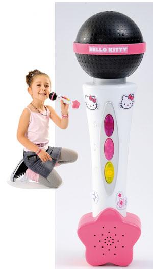 Микрофон Hello Kitty