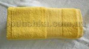 Полотенце махровое Belle-Textile LX316 желтое