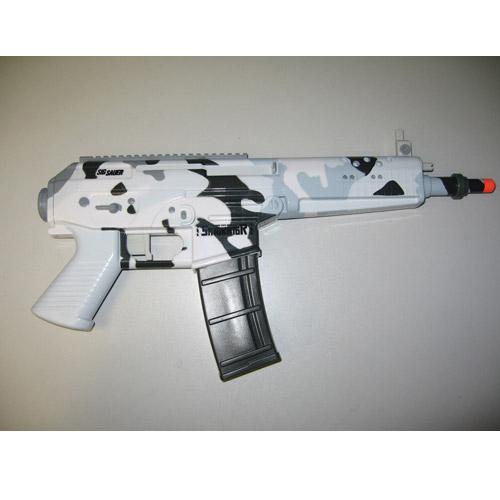 Водный автомат - SIG556 - STR 70 (моторизованный, милитари, серый)