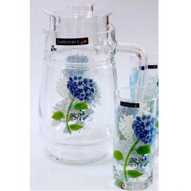 Комплект для напитков Luminarc HORTENSIA BLUE