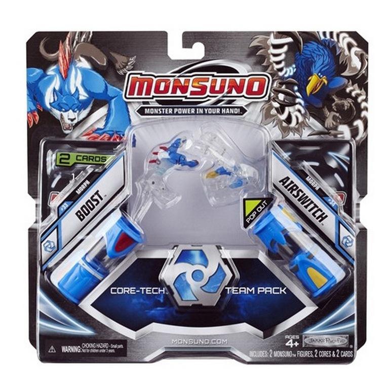 Набор для битвы Monsuno Core-Tech Boost и Airswitch Сombat 2-Packs W3 24973-14572-MO