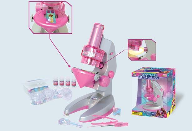 Микроскоп 100/200/300х Eastcolight Girls, 2205-EC