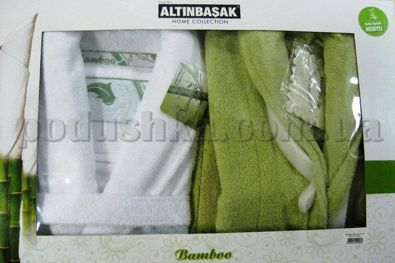 Набор Altinbasak халаты и полотенца 7