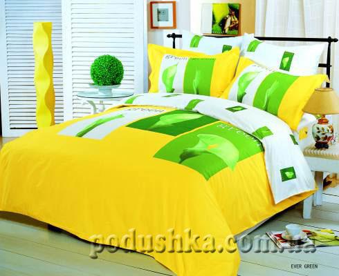 Комплект постели Ever-Green-Yellow, Le Vele