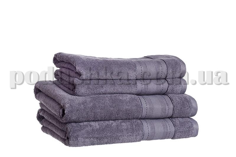 Полотенце махровое SOFT серый