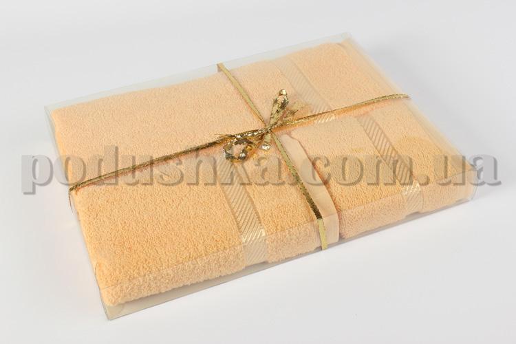Комплект из 2-х полотенец Руно персиковый