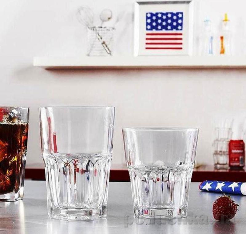 Набор стаканов Luminarc Новая Америка 6х350 мл высокие J2889/1   Luminarc