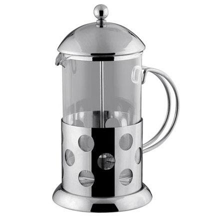 Кофейник /Заварник (нерж.+стекло, 1000мл.) Vinzer 89350   VINZER