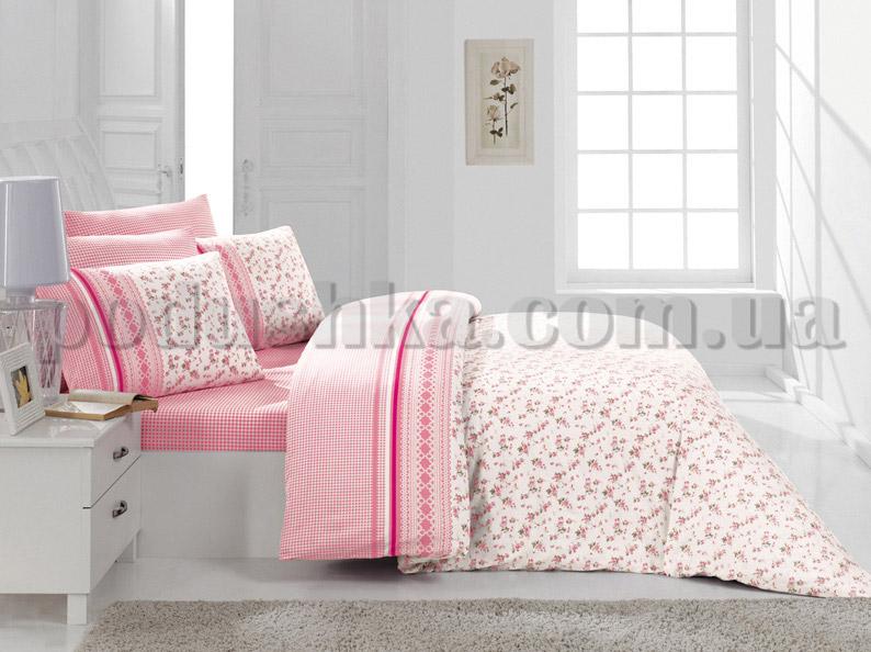 Постельное белье Romeo soft Gardens розовый
