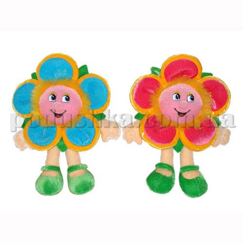 Мягкая игрушка - Цветок с пушистыми тычинками
