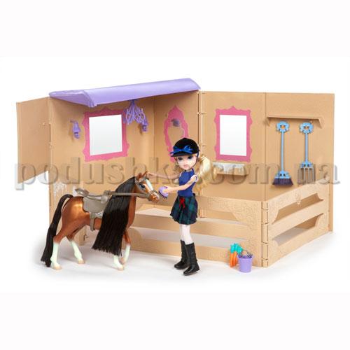 Кукла Moxie серии Конный клуб - Эйвери с лошадью и конюшней