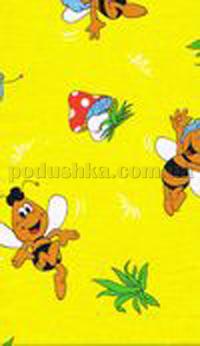 Постельное белье в кроватку Шуйские ситцы Пчела Майя ситец