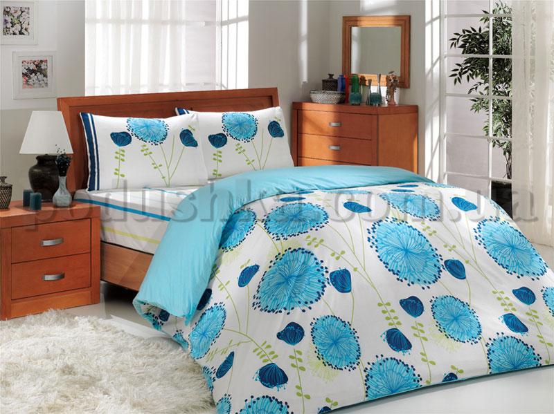 Постельное белье Hobby Almina голубой