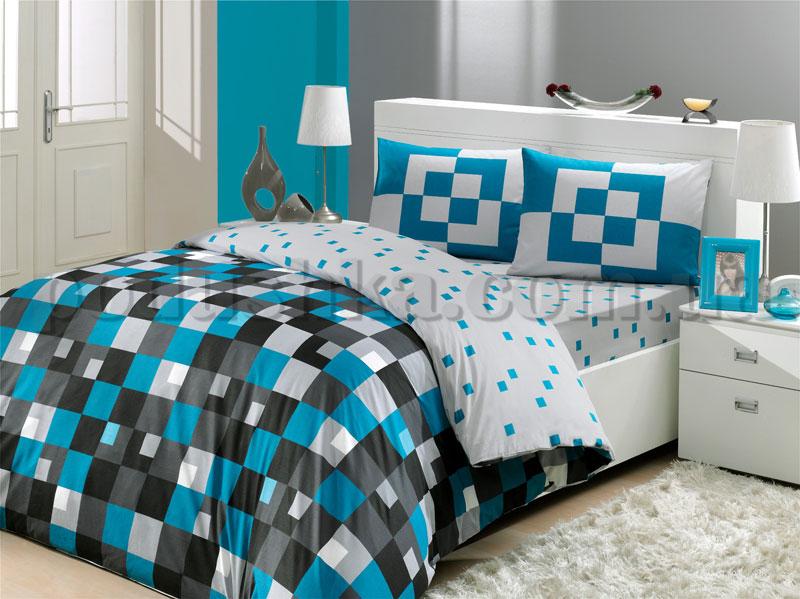 Постельное белье Hobby Mirage синий