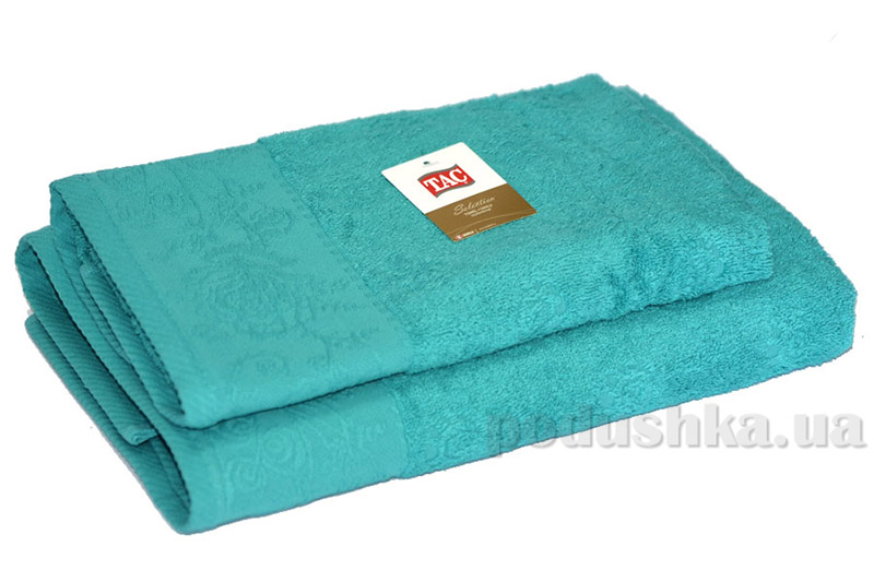 Набор махровых полотенец TAC Merry морская волна