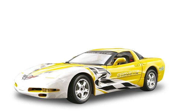 Авто-конструктор - CORVETTE PACE CAR (1997), желтый