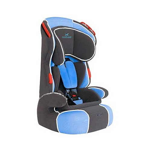 Автокресло Baby Shield Penguin Basic Blue/Dark Grey