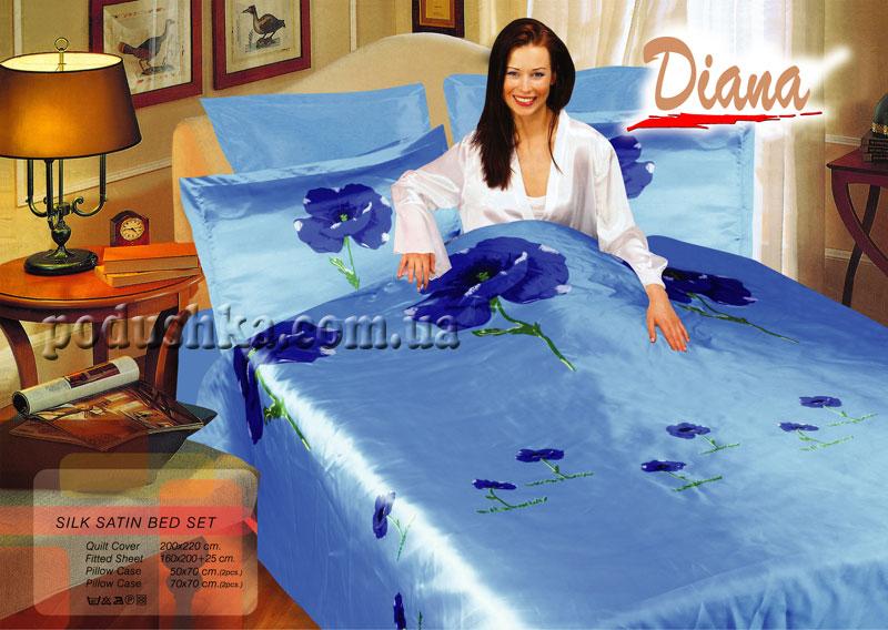 Постельное белье Weasel Blue-02, Diana