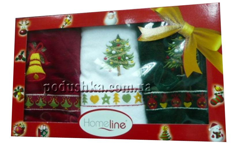 Набор полотенец  КРИСМАС 40*70(3), Home line