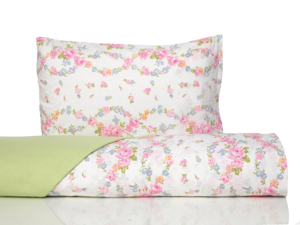 Комплект постельного белья English Rose Spring зеленый