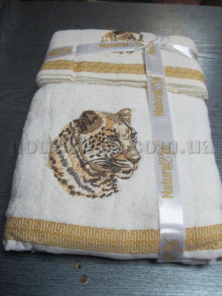 Набор махровых полотенец Mariposa Тигр светлый