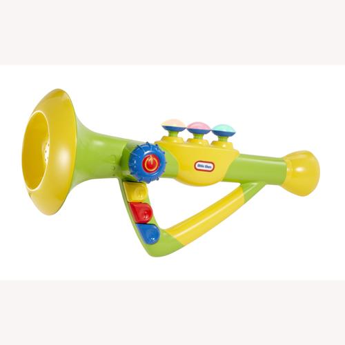 Музыкальная игрушка - ТРУБА (свет)