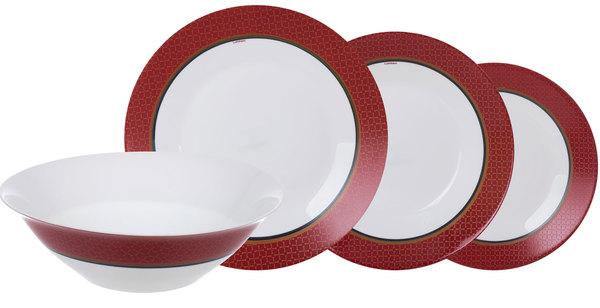 Сервиз столовый Essence Alto Rubis 19 предметов N8520