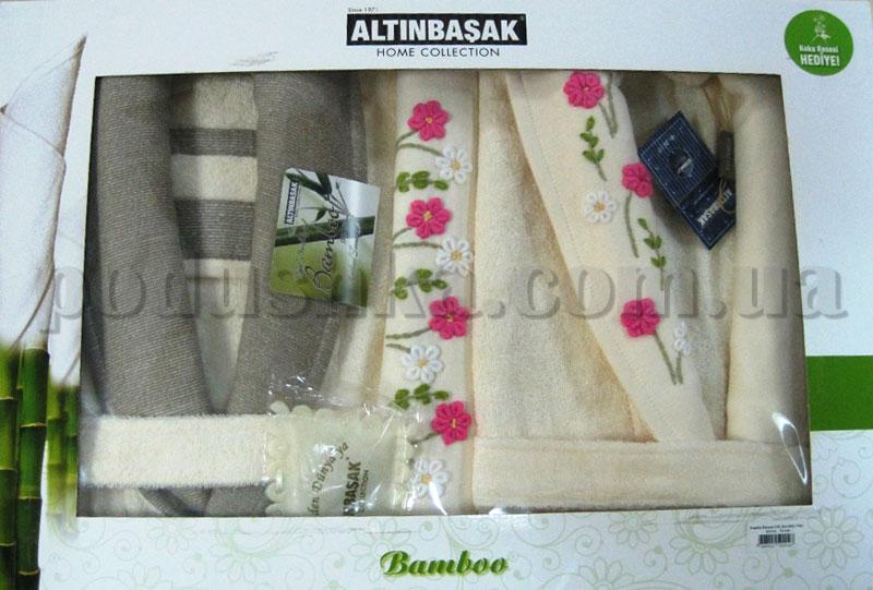 Набор Altinbasak халаты и полотенца 2