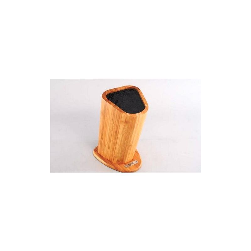 Подставка для хранения ножей 19х12х27 см (бамбук+пластик) 6995B