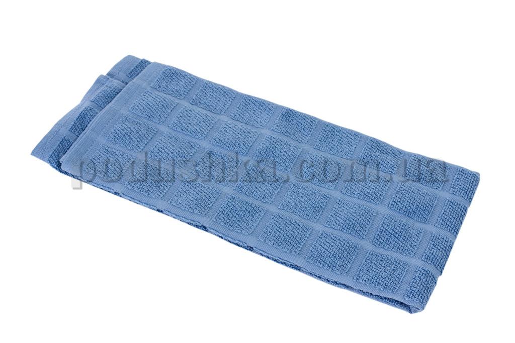 Полотенце кухонное Maisonette Kitchen Style-130 квадраты голубое