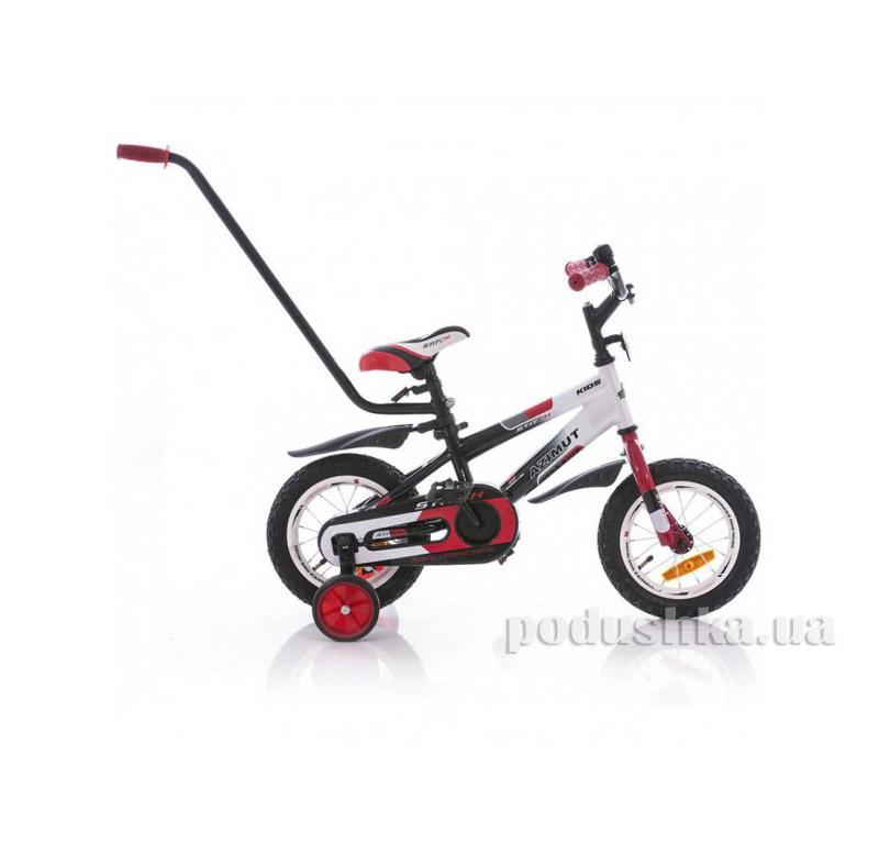 Велосипед Azimut 12 Stitch A Py Красно-черный   Azimut