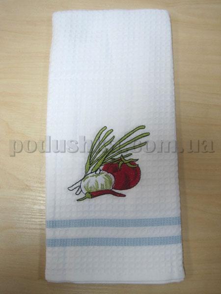 Полотенце кухонное вафельное Remzi Лук