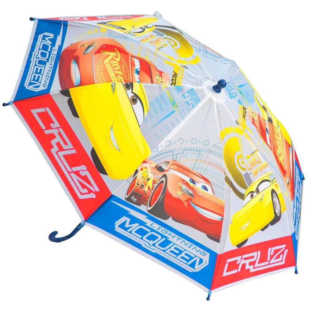Зонт механический полупрозрачный Тачки 3 Disney (Arditex) WD11641 blue