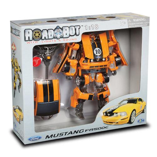 Робот-трансформер - MUSTANG FR500C (1:18)   Roadbot