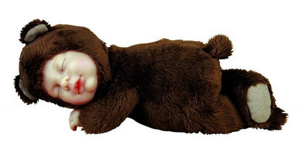 Кукла-мишка спящий Anne Geddes 579104-AG