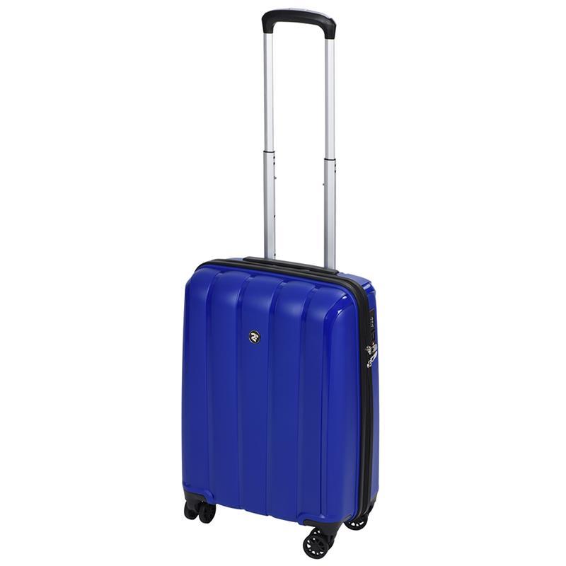 Чемодан пластиковый 2E BagsCases Youngster маленький 4 колеса 2E-SPPY-S-NV синий