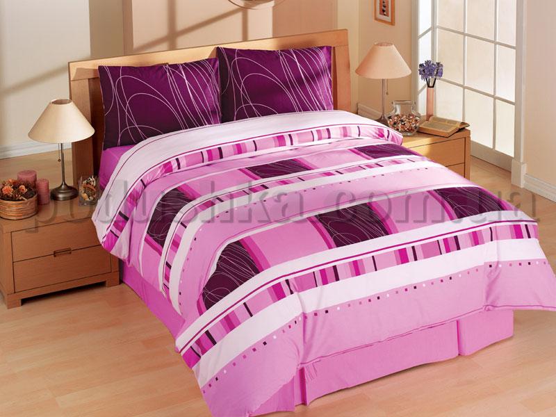 Постельное белье Hobby Ahenk фиолетовый