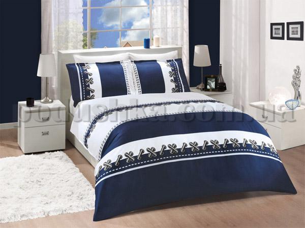 Постельное белье Altinbasak Dupont mavi