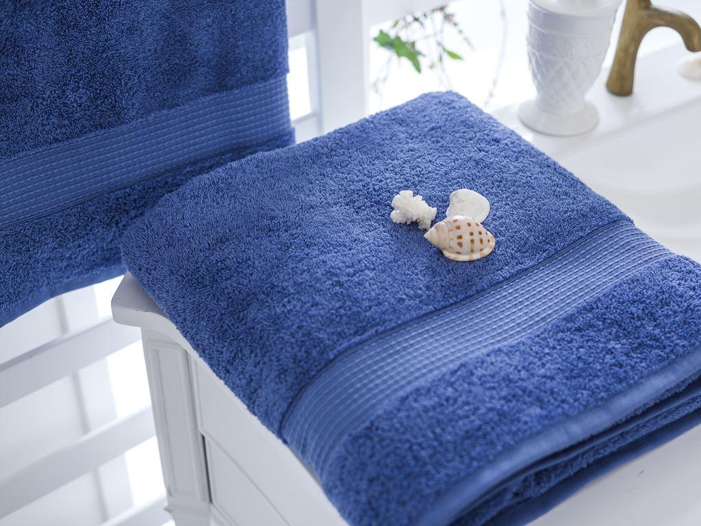 Полотенце банное махровое English Home Line голубое