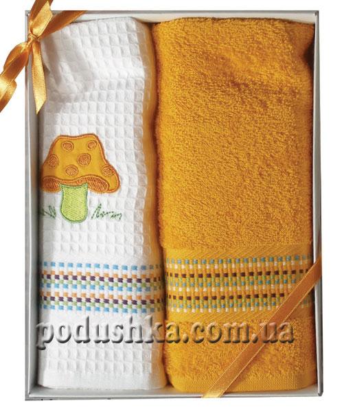 Набор полотенец PAVIA кухня вышивка ORANJ