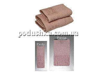 Полотенце LAVATERA PAVIA розовое