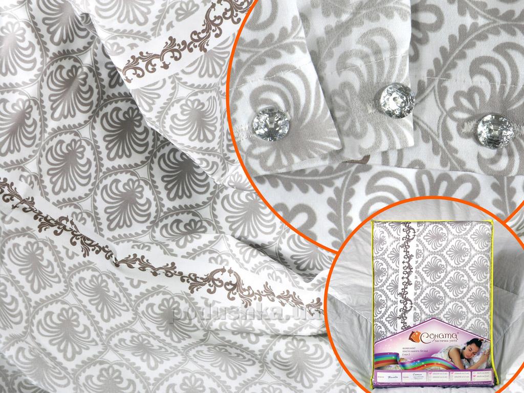 Постельное белье Соната Тильда сатин Полуторный комплект  Соната
