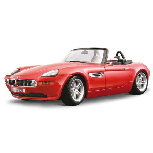 Авто-конструктор - BMW Z8 (2000), красный