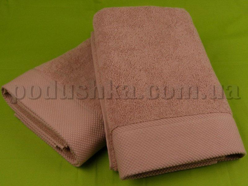 Полотенце Pavia MICROCOTTON коричневое