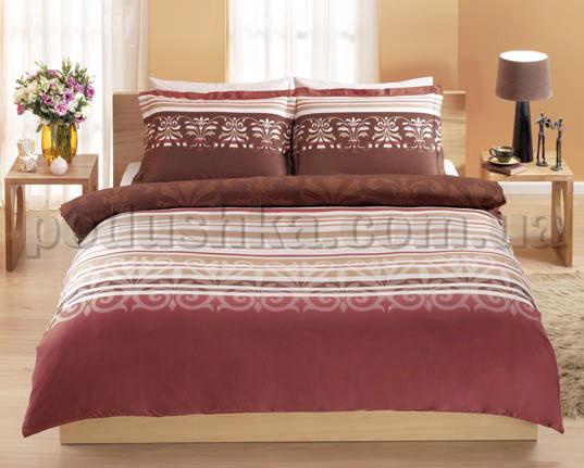 Постельное белье TAC Esprit коричневый