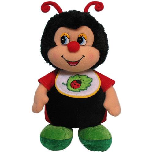 Мягкая игрушка - Кукла божья коровка музыкальная, 24 см